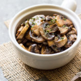 Marsala Mushrooms
