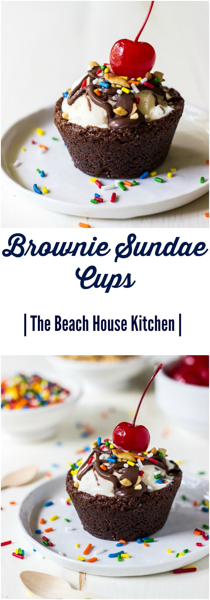 Brownie Sundae Cups