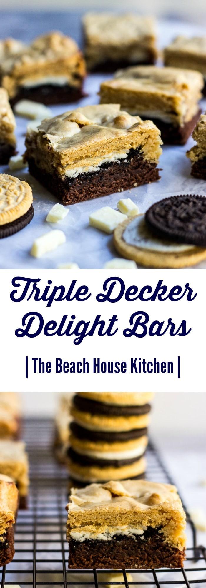 Triple Decker Delight Bars