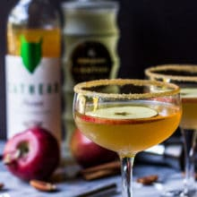 The Nutty Apple Martini