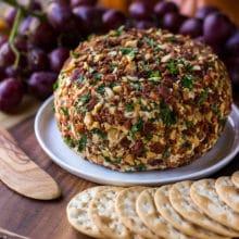 Jalapeño Bacon Ranch Cheese Ball