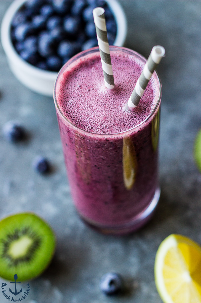 Blueberry Lemon Zinger Smoothie
