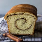 Cinnamon Swirl Bread with Orange Maple Butter