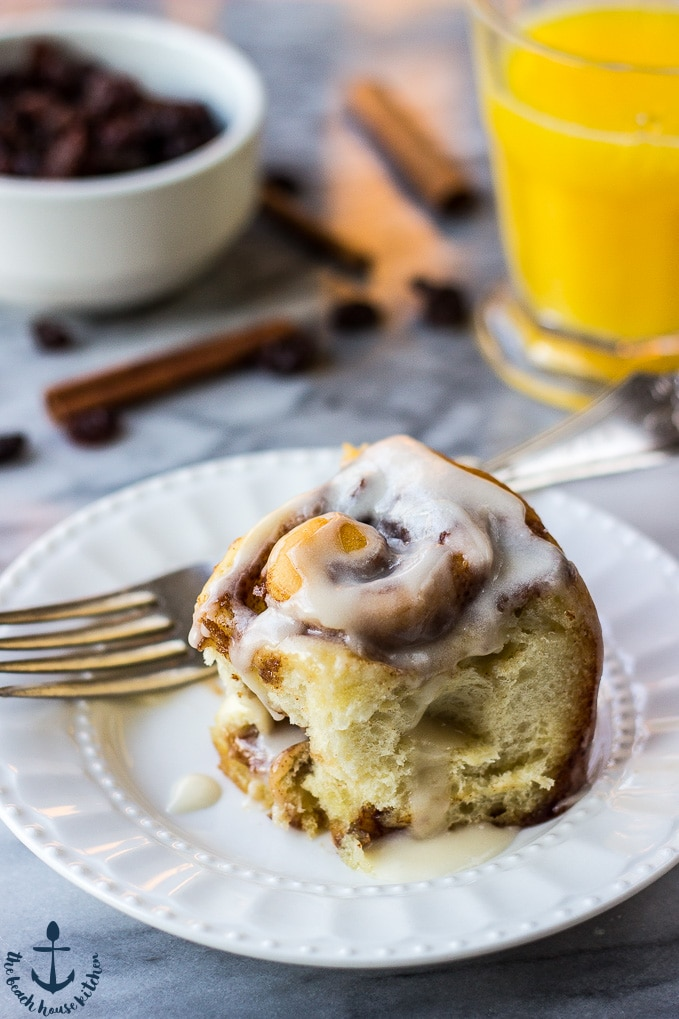 Cinnamon Raisin Rolls