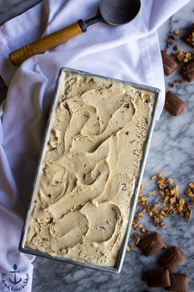 Coffee Toffee Ice Cream