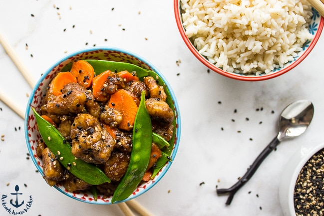 Easy Sesame Chicken