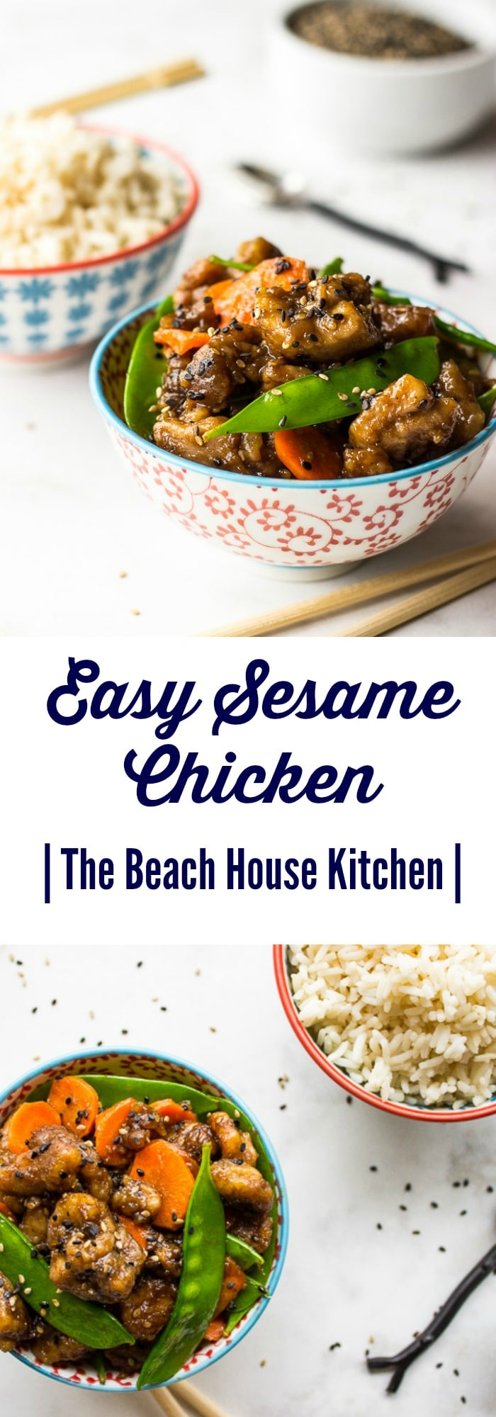 Easy Sesame Chicken | The Beach House Kitchen