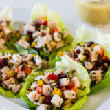Smoked Turkey Salad with Honey Dijon Vinaigrette