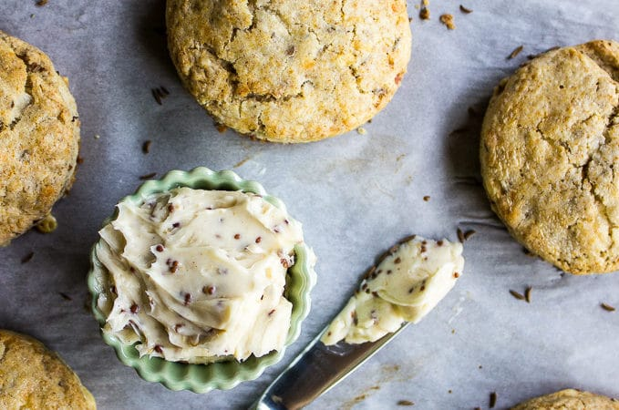 Rye Scones with Bacon and Jarlsberg