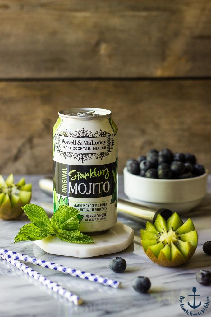 Blueberry Kiwi Mojito