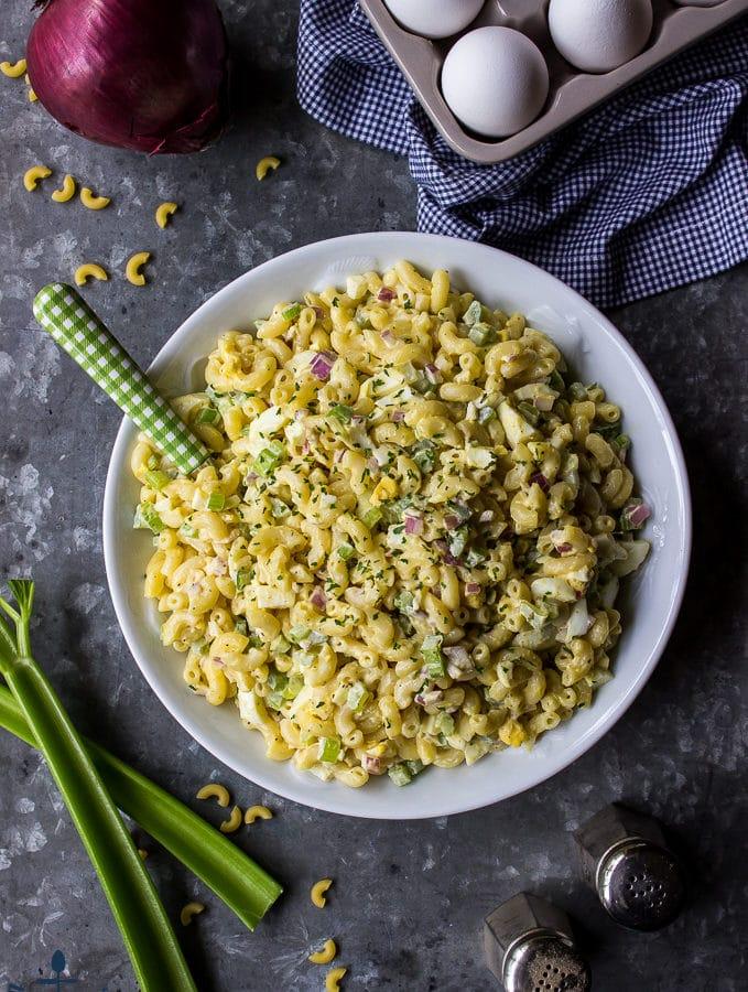 Gram's Easy Macaroni Salad