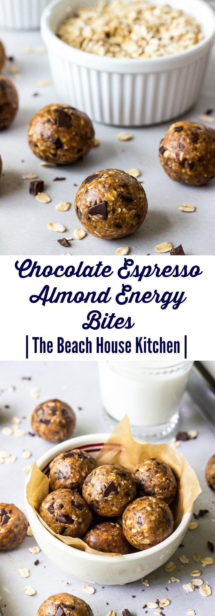 Chocolate Espresso Almond Energy Bites