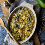 Beefy Zucchini Casserole
