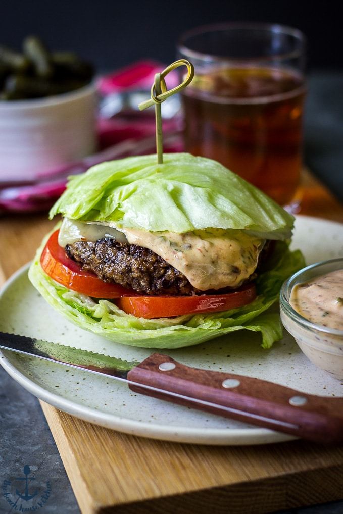 Black Bean Burgers with Chipotle Mayo | The Beach House ...