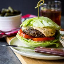 Black Bean Burgers with Chipotle Mayo