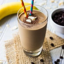 Chocolate Coconut Espresso Smoothie