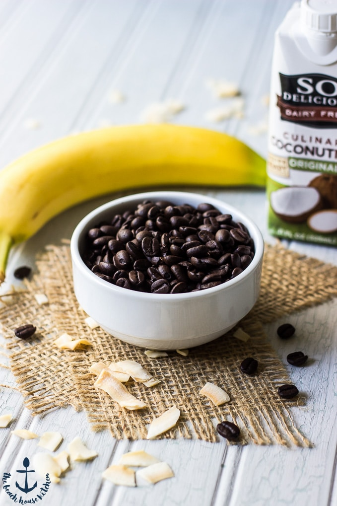 Chocolate Coconut Coffee Smoothie