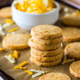 Cheddar Cheese Coins