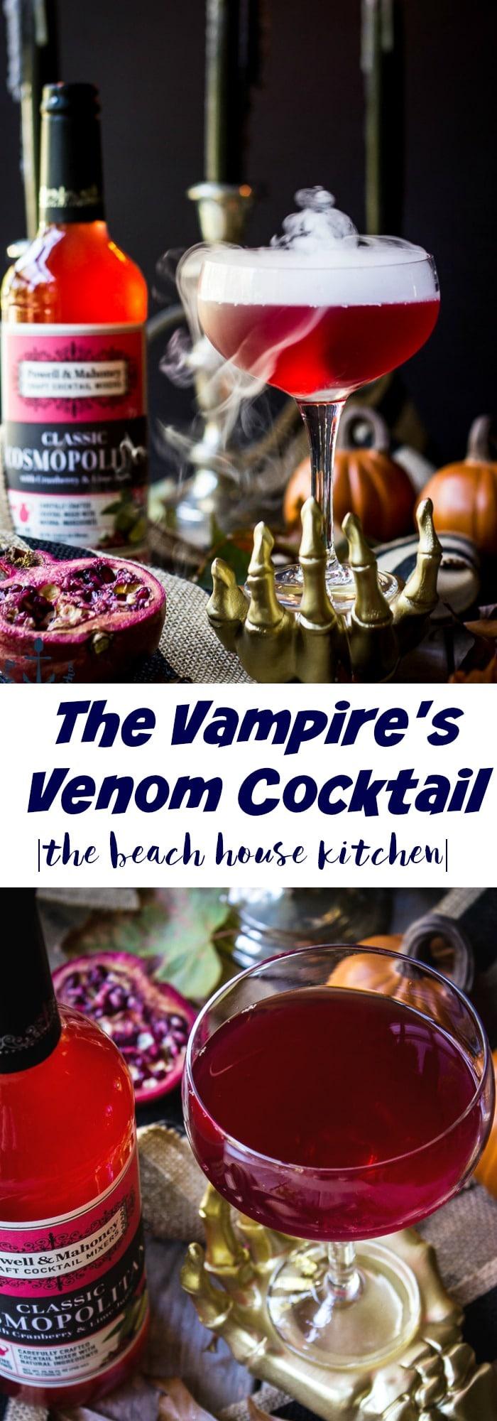The Vampire's Venom Cocktail