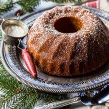 Honey Pecan Bundt Cake