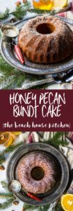 Honey Pecan Bundt Cake