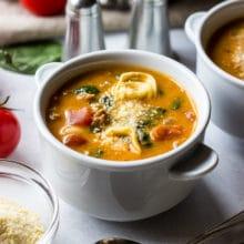 Tomato Tortellini Stew