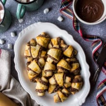 Nutella Pecan Rugelach