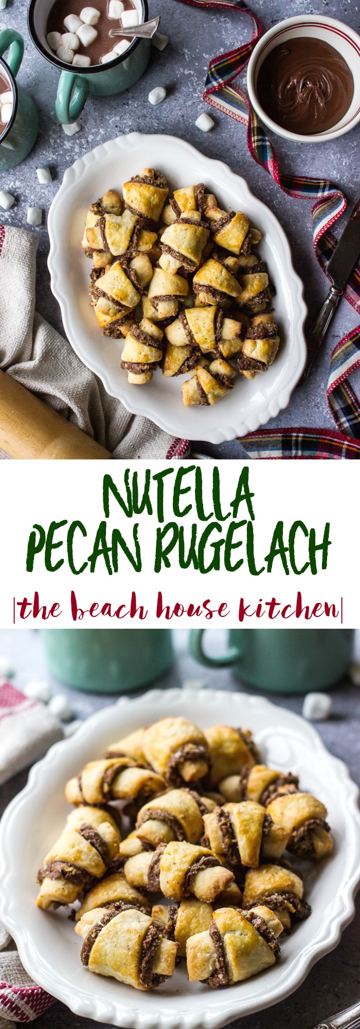 Nutella pecan rugelach the beach house kitchen for The pecan house