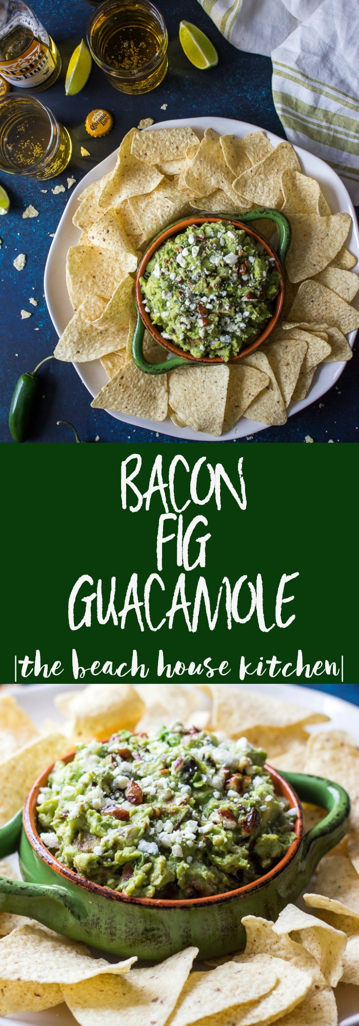 Bacon Fig Guacamole