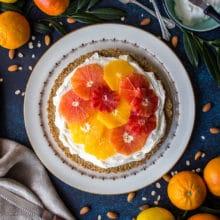 Winter Citrus Mascarpone Tart