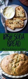 Irish Soda Bread Long Pinterest Pin