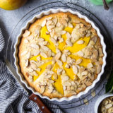 Tropical Almond Mango Cake