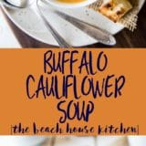 Buffalo Cauliflower Soup