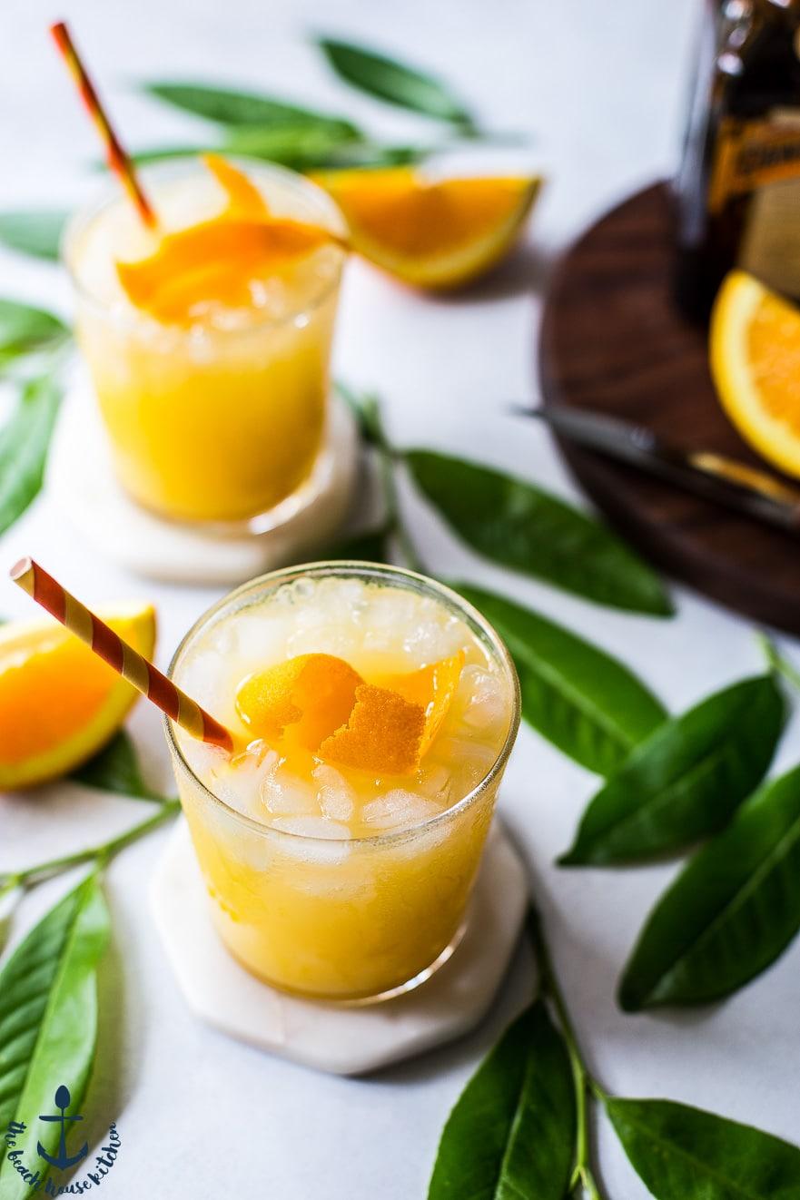 orange crush cocktail the beach house kitchen