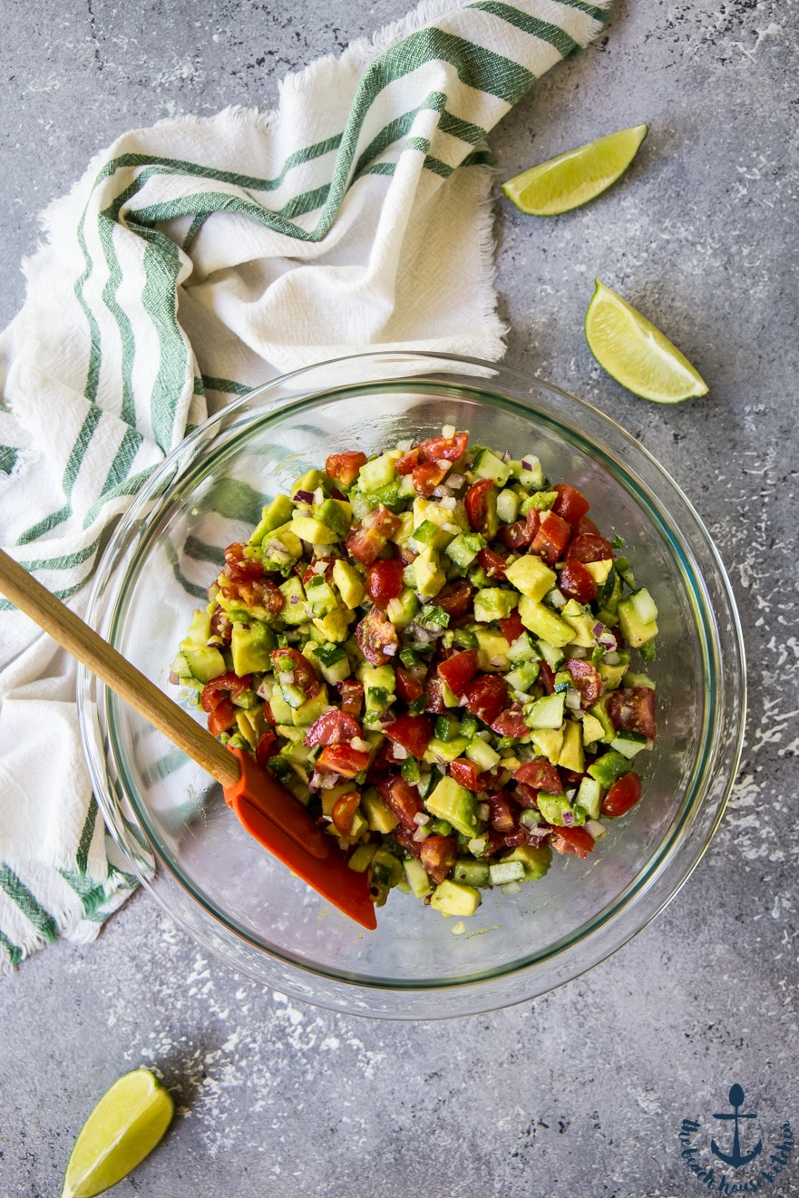 Avocado and Tomato Salsa
