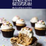 Earl Grey Cupcakes with Vanilla Bean Buttercream