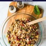 Tuscan Tuna Bean Salad