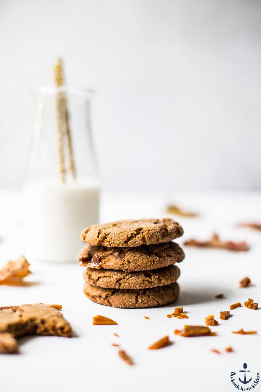Burnt Sugar Ginger Cookies