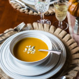 Roasted Butternut Squash Soup and Thanksgiving at the BHK