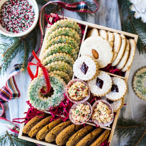 2018 Christmas Cookie Box