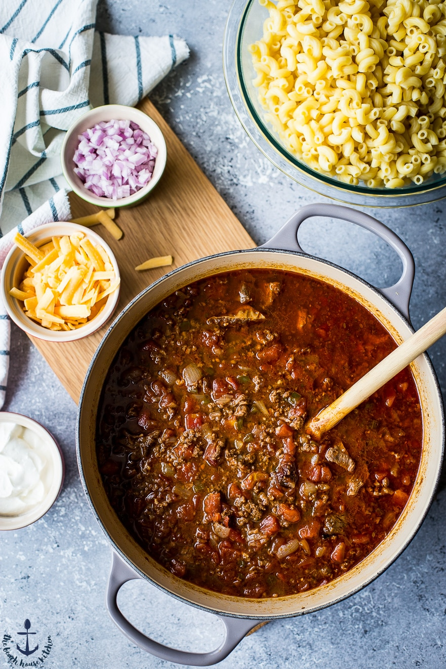 Uncle John's Chili Mac