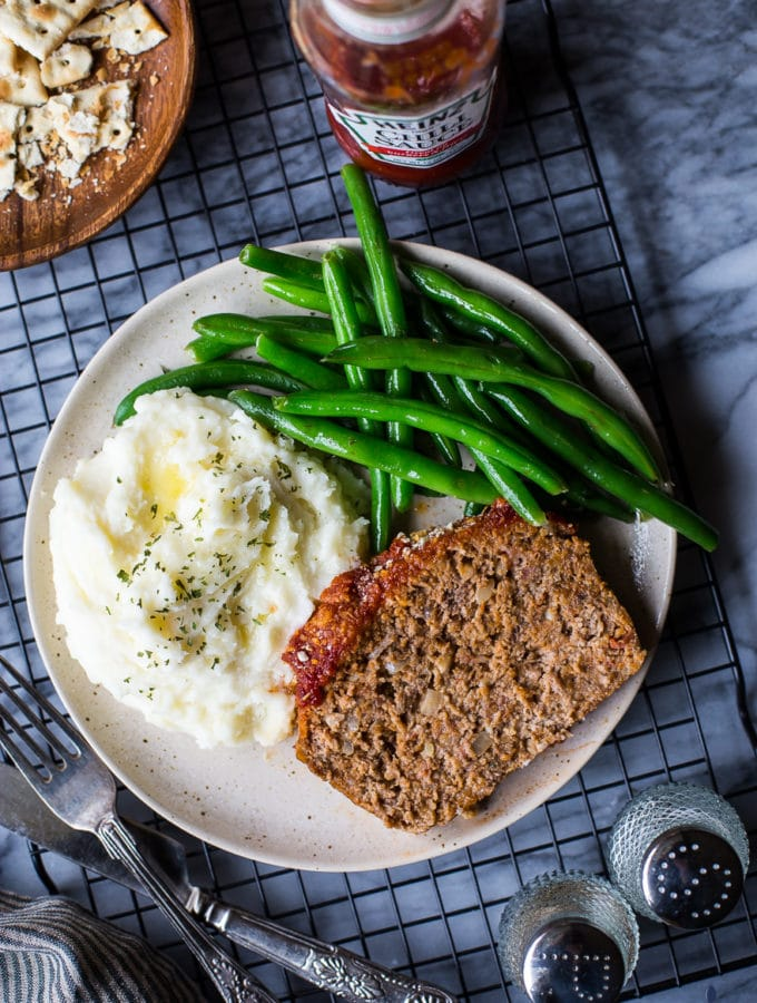 Classic Easy Meatloaf