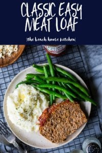 Classic Easy Meat Loaf