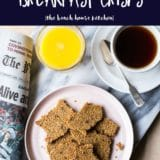 Oatmeal Raisin Breakfast Crisps