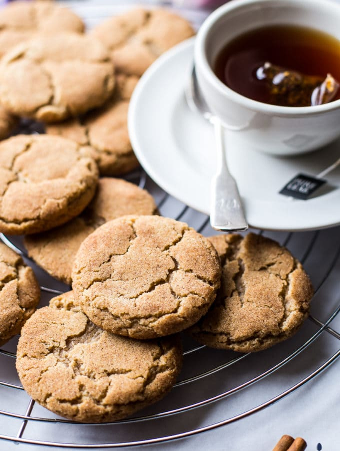 Chai Snickerdoodle Cookies