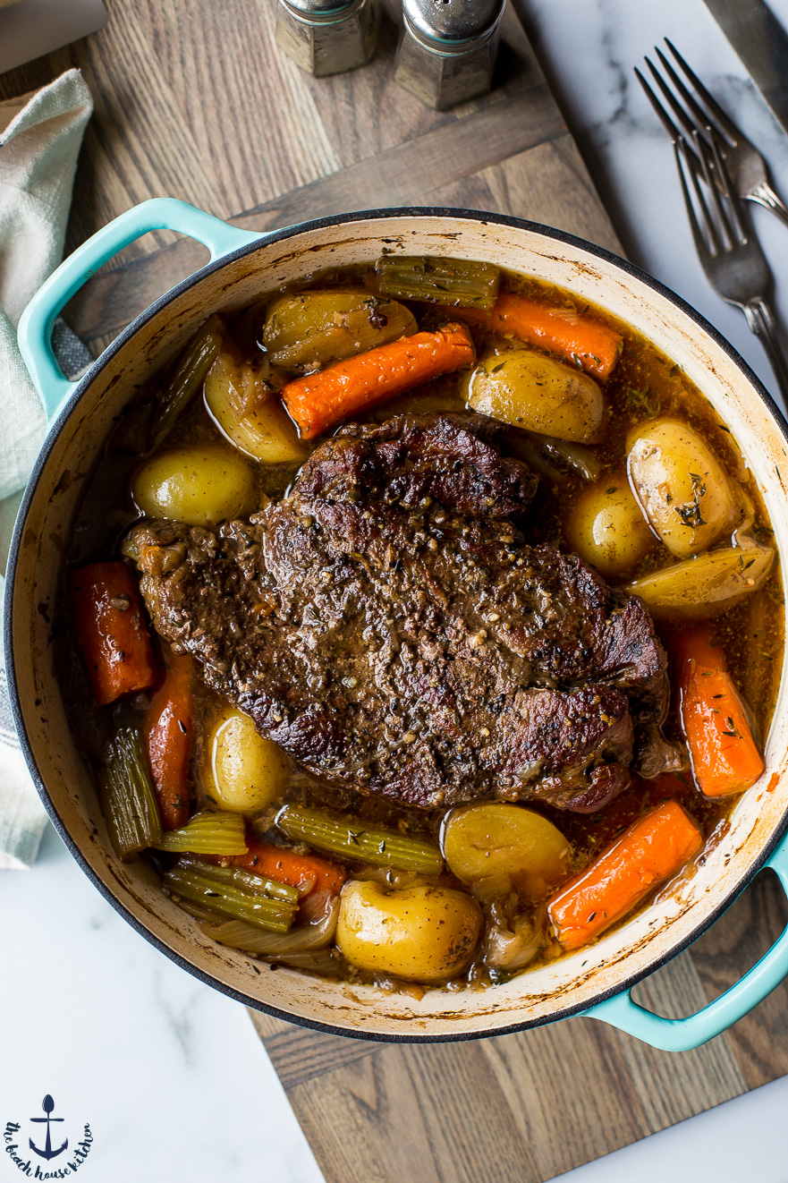 Classic Pot Roast | The Beach House Kitchen
