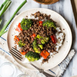 Korean Beef with Broccoli and Peppers