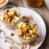 Peachy Quinoa Breakfast Bowl