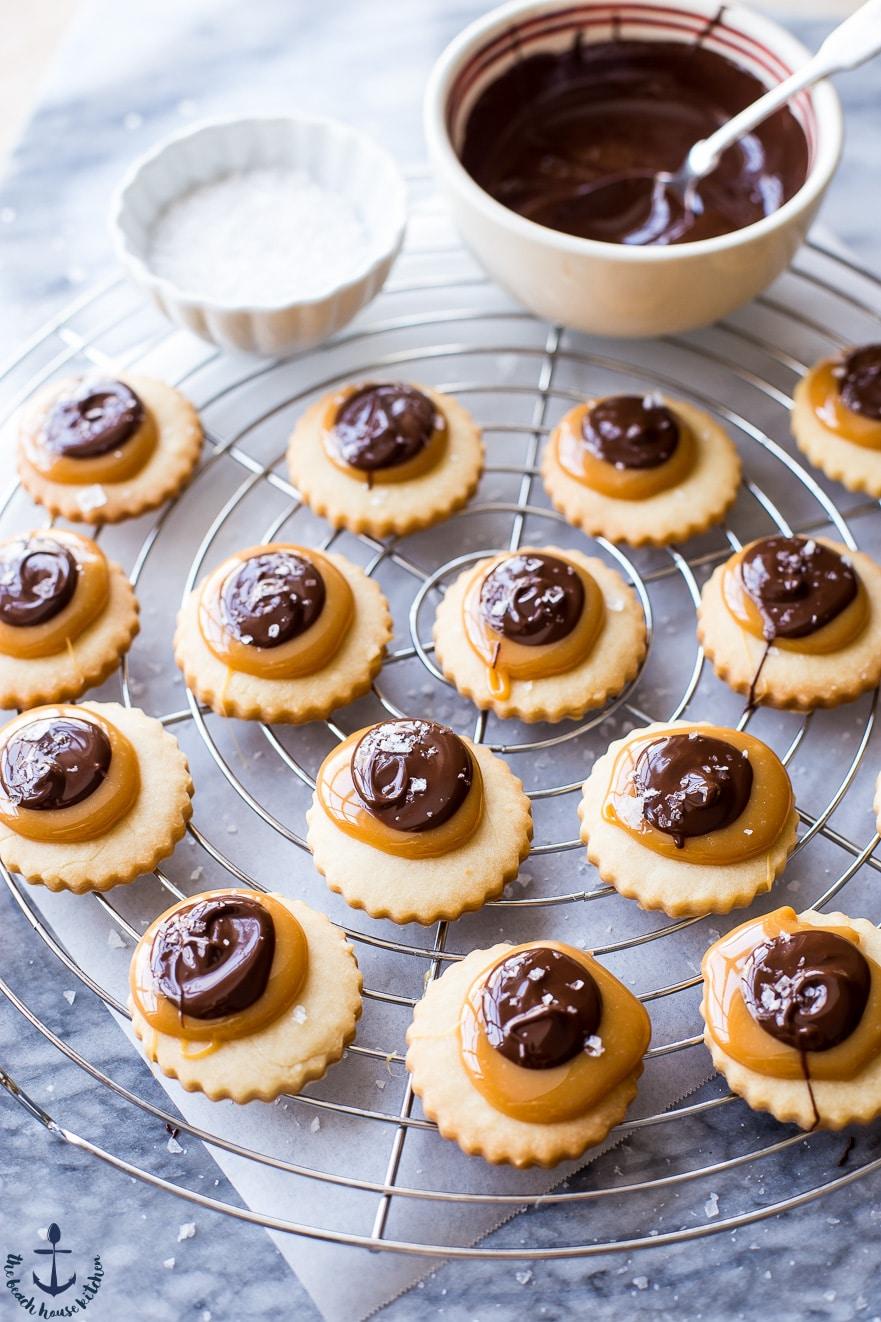 Twix Cookies