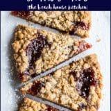 Strawberry Jam Crumb Cookies